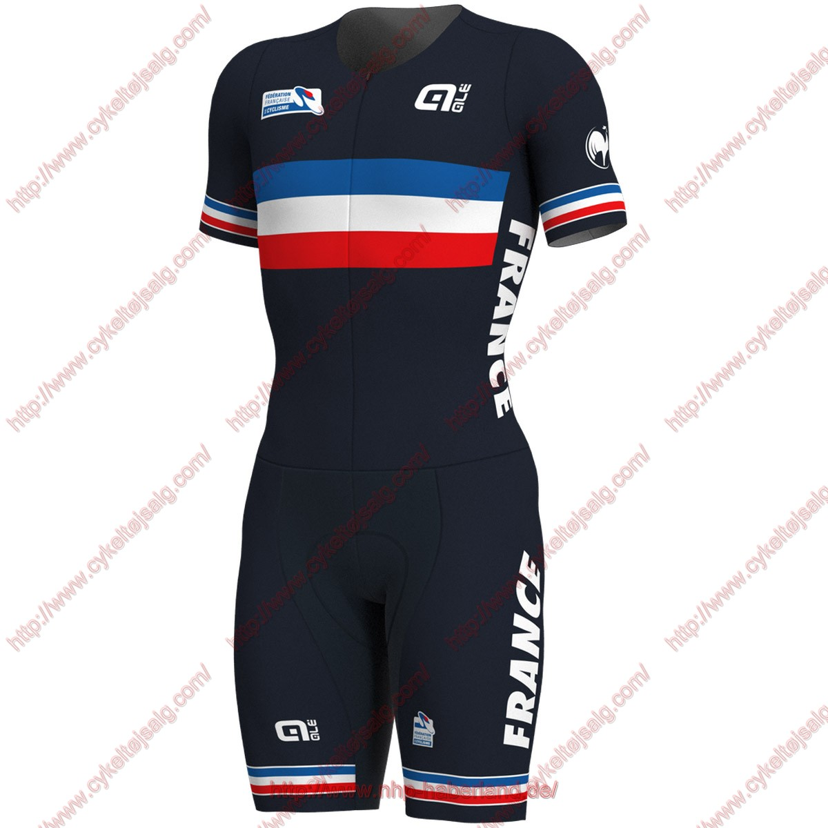 French National 2018 skinsuit