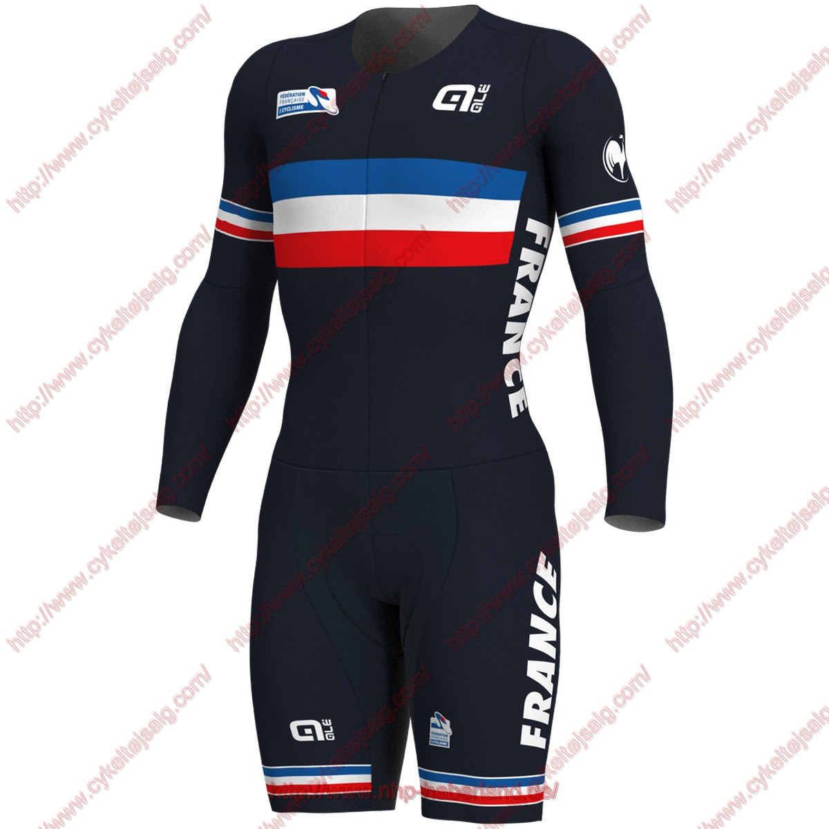 French National 2018 long sleeves Skinsuits