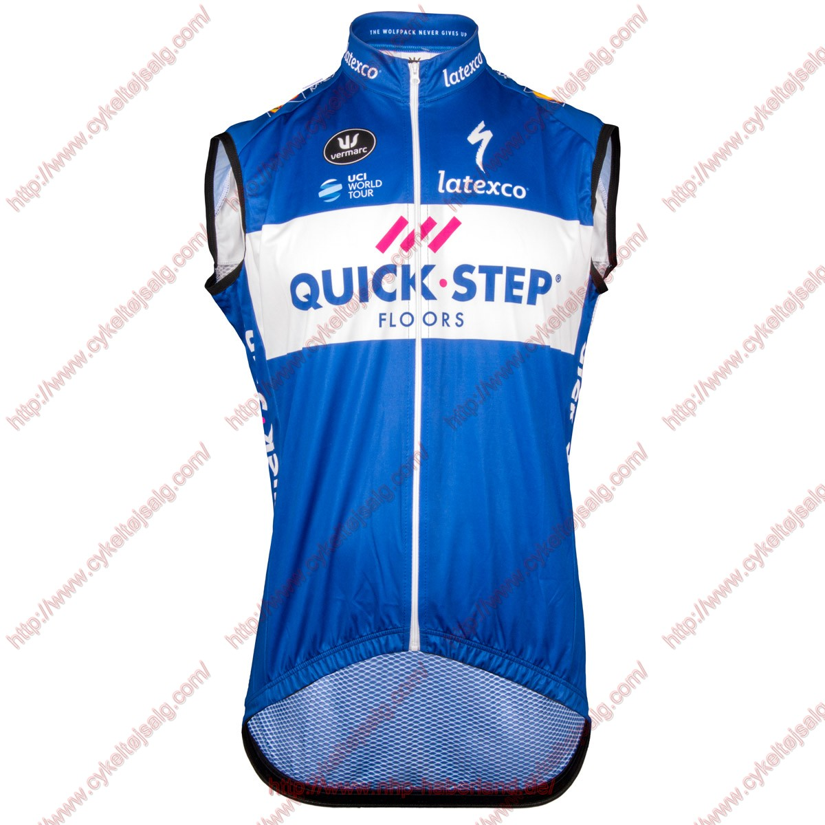 Quick Step Floors 2018 Windstopper CykelVest