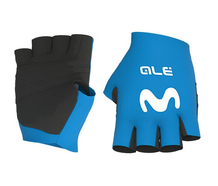 MOVISTAR TEAM Cycling Gloves 2020 blue
