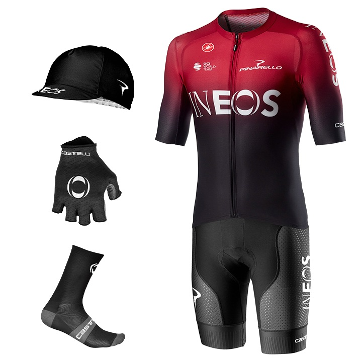 Maxi-Set TEAM INEOS Aero Race 6.1 2020 (5 Teile) Tenue Cyclisme